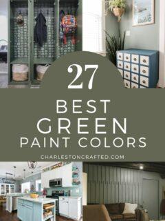 the best green paint colors