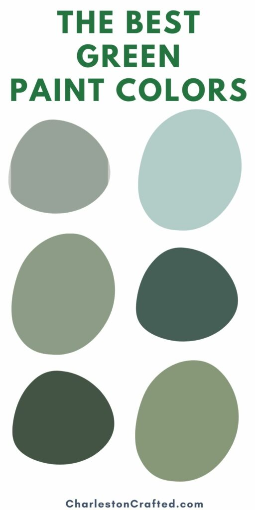 the best green paint colors for every home