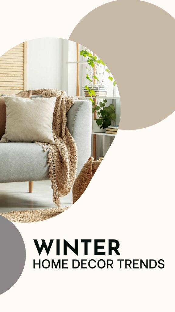 winter home decor trends