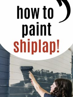 3 ways how to paint shiplap