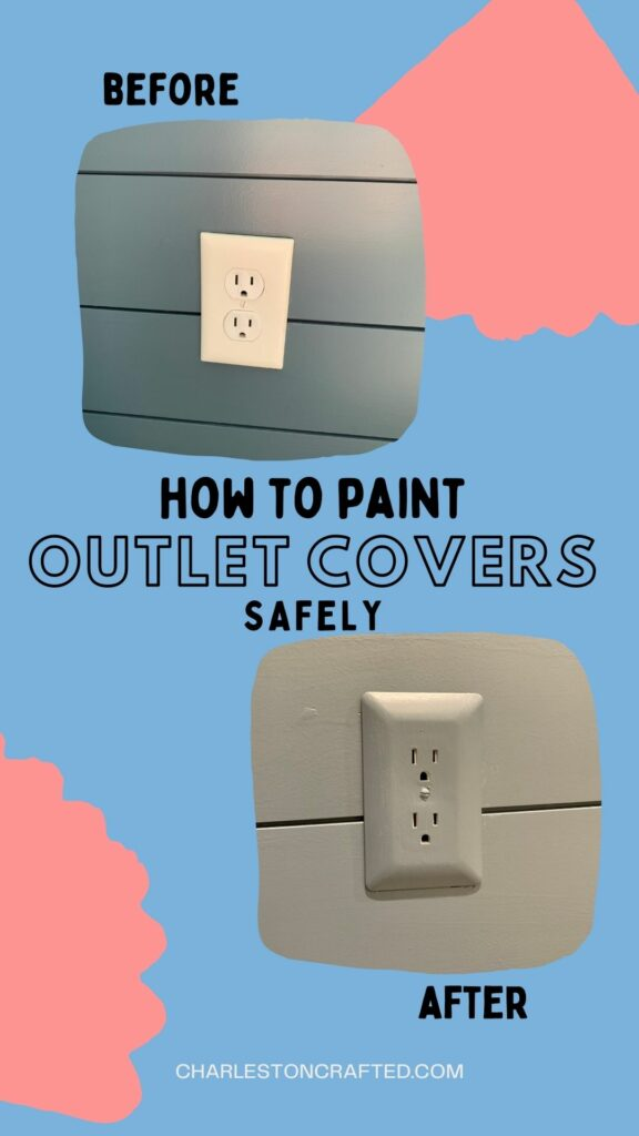 how to paint outlet covers safely