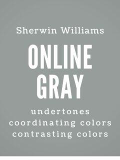 sherwin williams online undertones coordinating colors contrasting colors